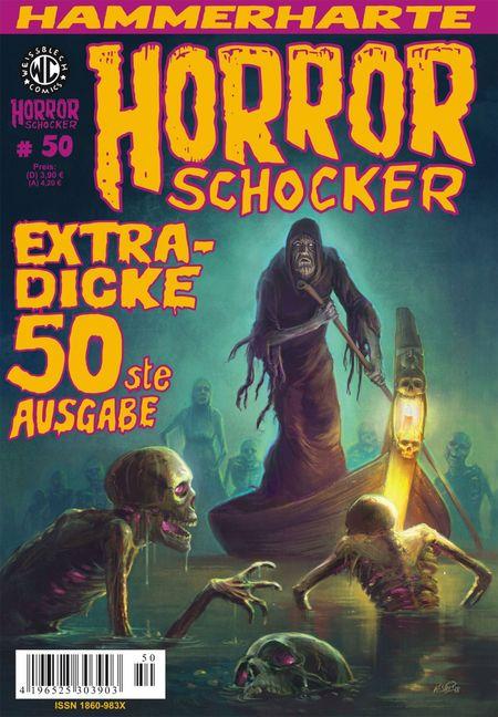 Horrorschocker 50 - Das Cover