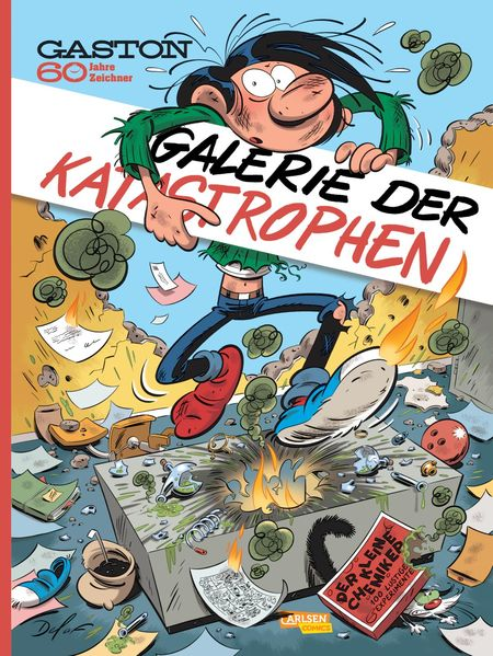 Gaston: Die Galerie der Katastrophen - Das Cover