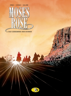Moses Rose 2: Das Geheimnis der Ruinen - Das Cover