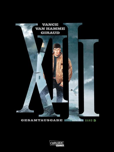 XIII Gesamtausgabe 5 - Das Cover
