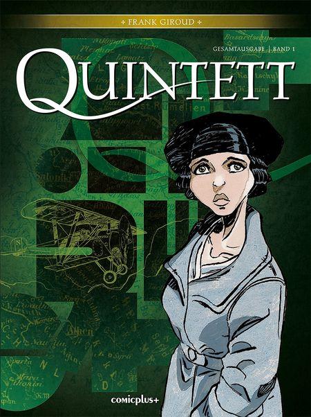 Quintett – Gesamtausgabe 1  - Das Cover