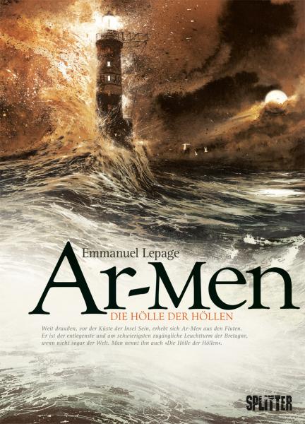 Ar-Men: Die Hölle der Höllen - Das Cover