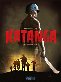 Katanga 1: Diamanten - Das Cover