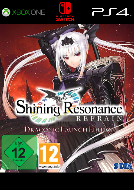 Shining Resonance Refrain - Der Packshot