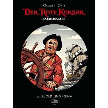 Der rote Korsar Gesamtausgabe 11: Gold und Ruhm - Das Cover