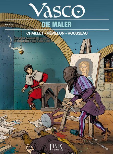 Vasco 28: Die Maler - Das Cover