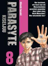 Parasyte - Kiseijuu 8 - Das Cover