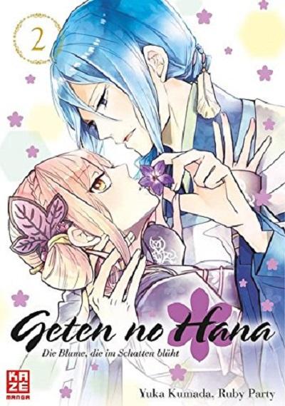 Geten no Hana – Die Blume, die im Schatten blüht 2 - Das Cover