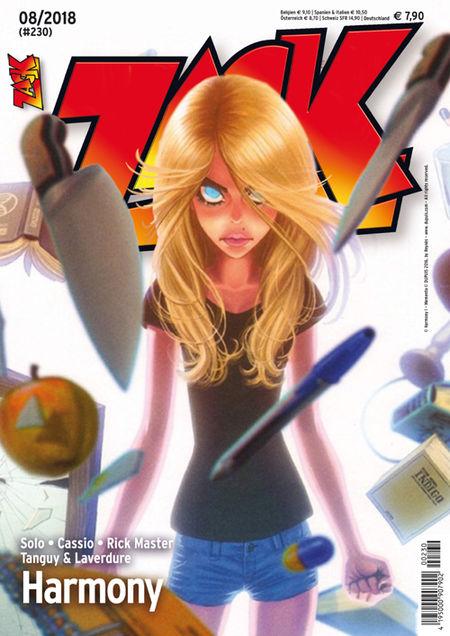 Zack 230 - Das Cover