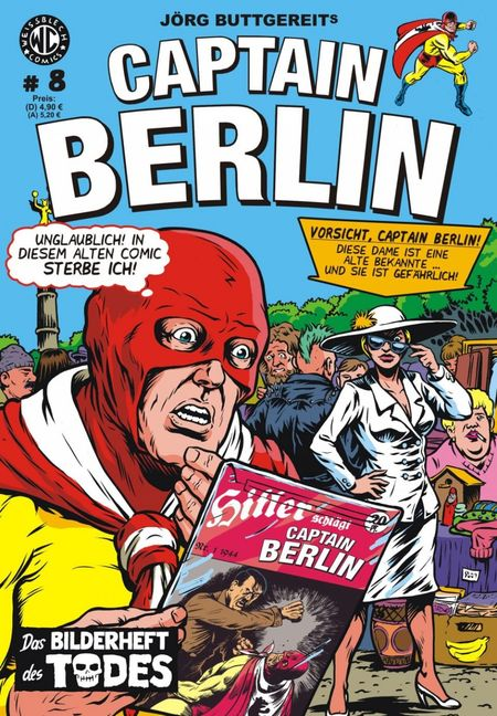 Captain Berlin 8 - Das Cover