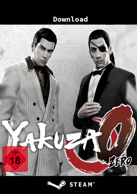 Yakuza 0 - Der Packshot