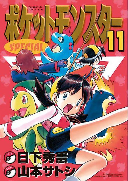 Pokémon: Die ersten Abenteuer 11 - Das Cover