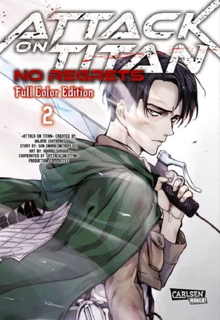 Attack on Titan – No Regrets: Full Color Edition 2 - Das Cover