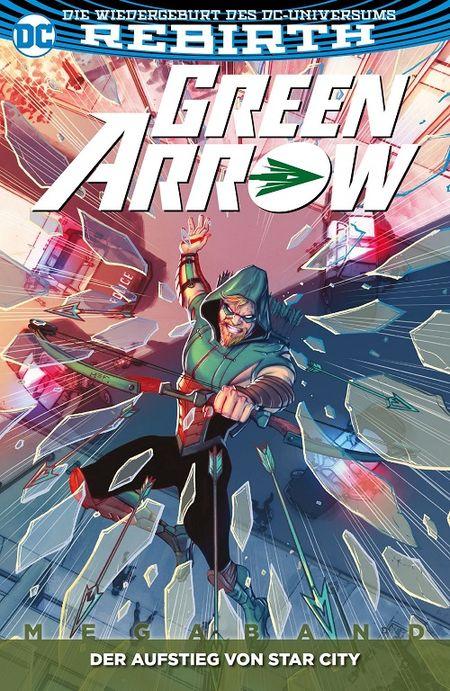 Green Arrow (Rebirth) Megaband 2: Der Aufstieg von Star City - Das Cover