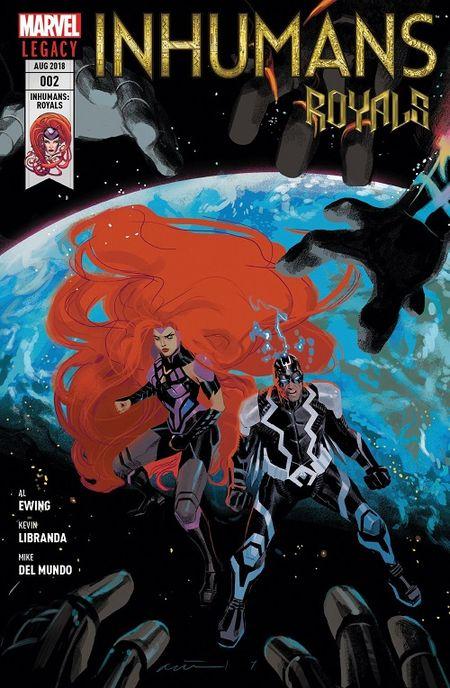 Inhumans Royals 2: Das jüngste Gericht  - Das Cover