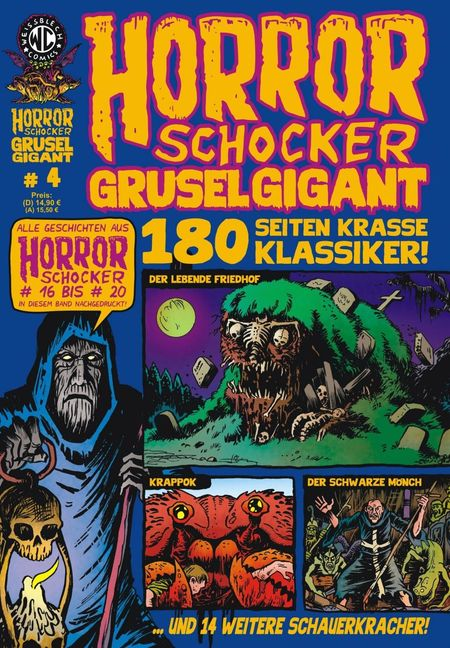 Horrorschocker Gruselgigant 4 - Das Cover