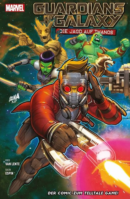 Guardians of the Galaxy: Die Jagd auf Thanos - Das Cover