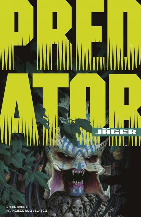 Predator: Jäger - Das Cover