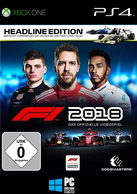 F1 2018 - Der Packshot