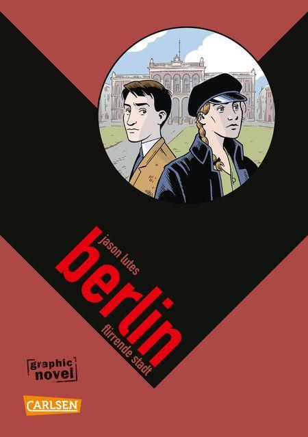 Berlin 3 – Flirrende Stadt - Das Cover
