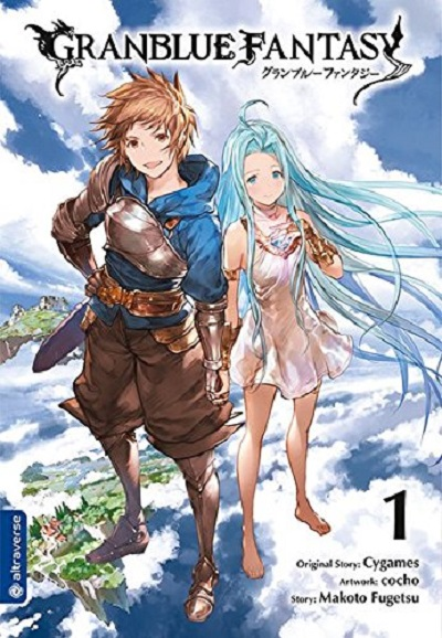 Granblue Fantasy 1 - Das Cover