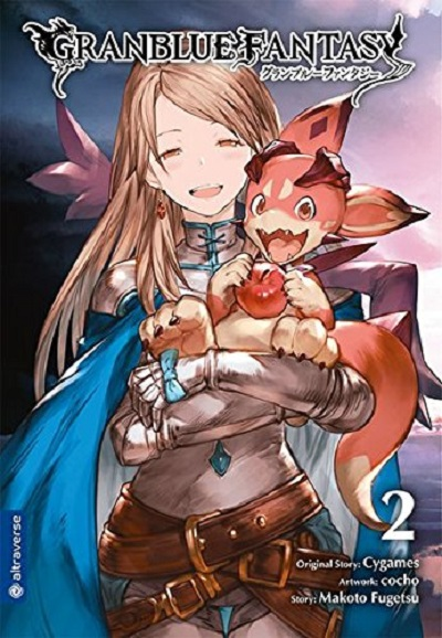 Granblue Fantasy 2 - Das Cover