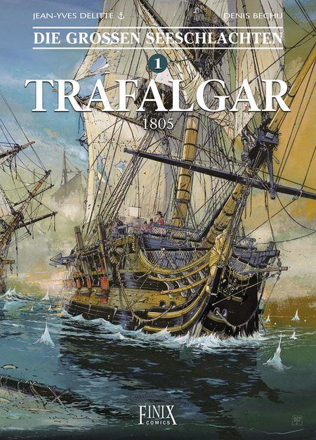 Die großen Seeschlachten 1  - Das Cover
