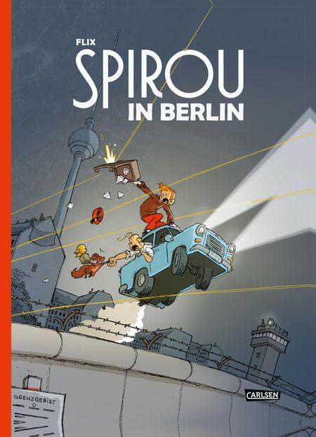 Spirou in Berlin - Das Cover