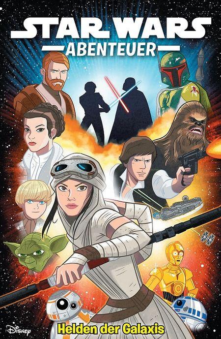 Star Wars Abenteuer 2: Helden der Galaxis - Das Cover