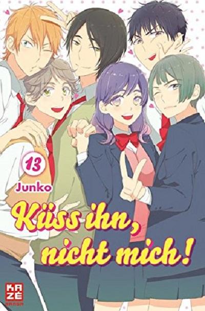 Küss ihn, nicht mich! 13 - Das Cover