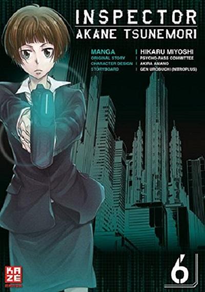 Inspector Akane Tsunemori 6 - Das Cover