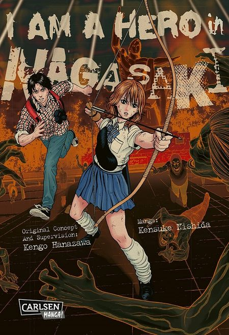 I am Hero in Nagasaki - Das Cover