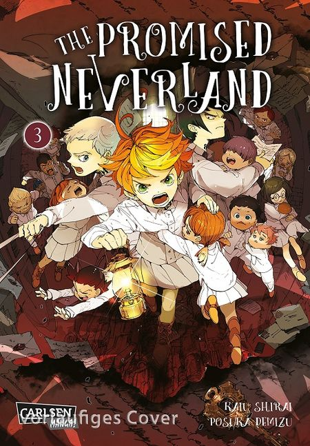 The Promised Neverland 3 - Das Cover