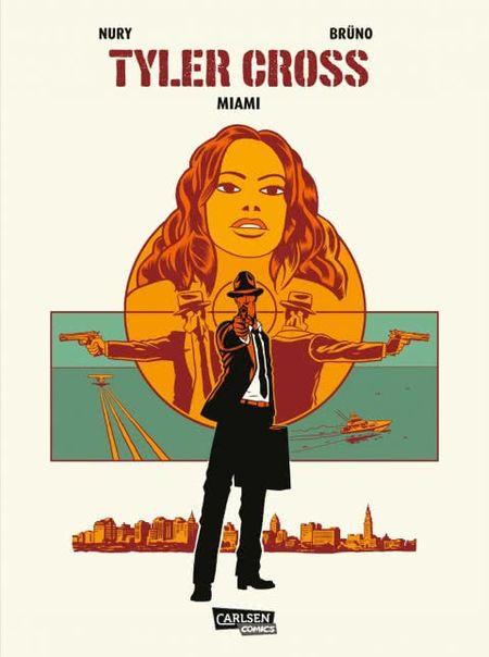Tyler Cross 3: Miami - Das Cover