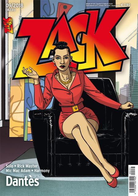 Zack 231 - Das Cover