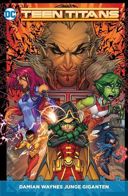 Teen Titans (Rebirth) 1: Damian Waynes junge Giganten  - Das Cover