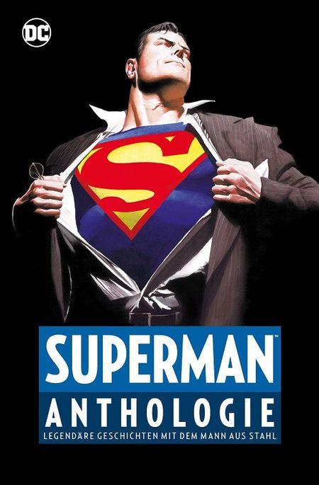 Superman Anthologie – Legendäre Geschichten mit dem Mann aus Stahl  - Das Cover