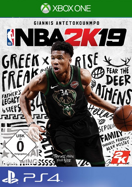 NBA 2K19 - Der Packshot