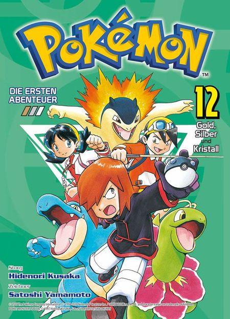 Pokémon: Die ersten Abenteuer 12 - Das Cover