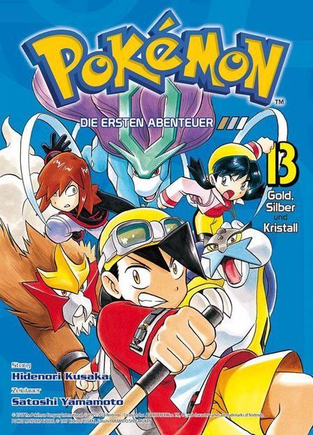Pokémon: Die ersten Abenteuer 13 - Das Cover