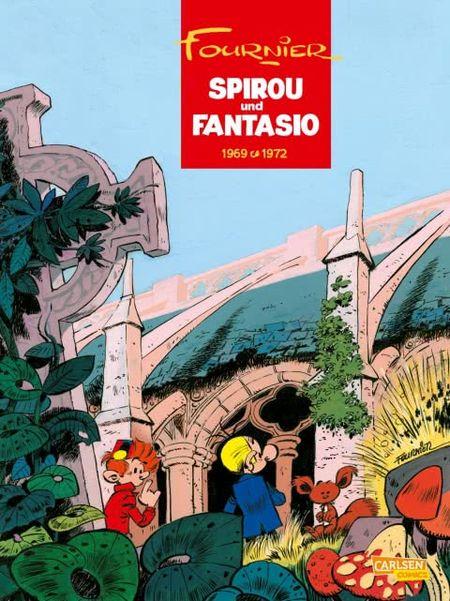 Spirou und Fantasio 9: 1969-1972 - Das Cover