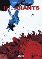 I KILL GIANTS - Das Cover