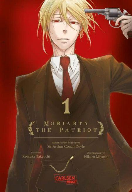 Moriarty the Patriot 1 - Das Cover