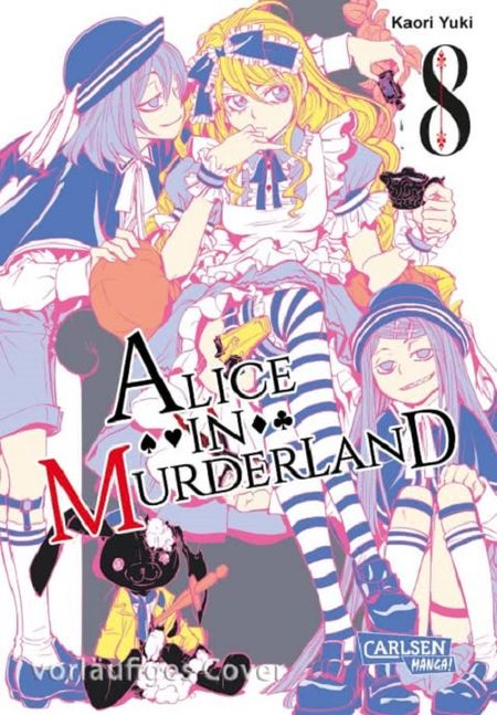 Alice in Murderland 8 - Das Cover