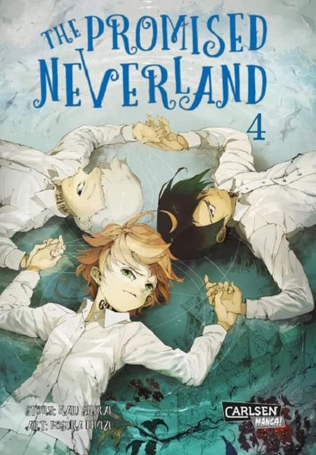 The Promised Neverland 4 - Das Cover