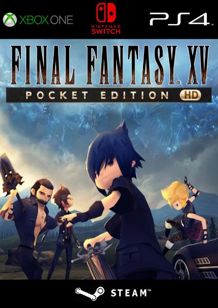 Final Fantasy XV Pocket Edition HD - Der Packshot
