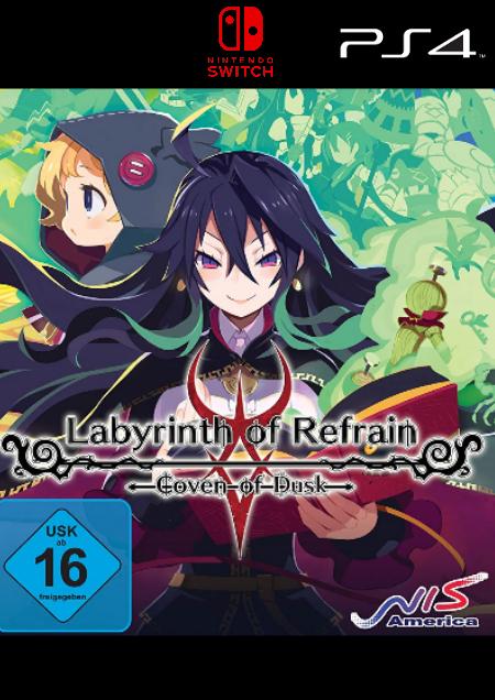 Labyrinth of Refrain: Coven of Dusk - Der Packshot