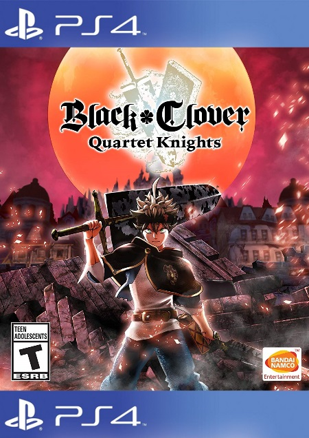 Black Clover: Quartet Knights - Der Packshot