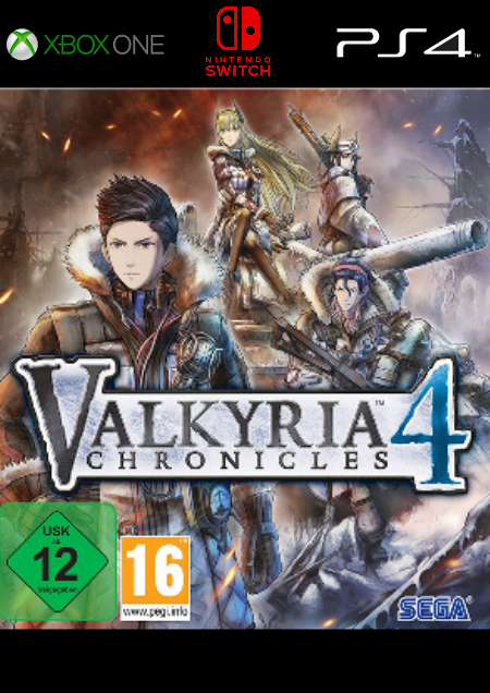 Valkyria Chronicles 4 - Der Packshot