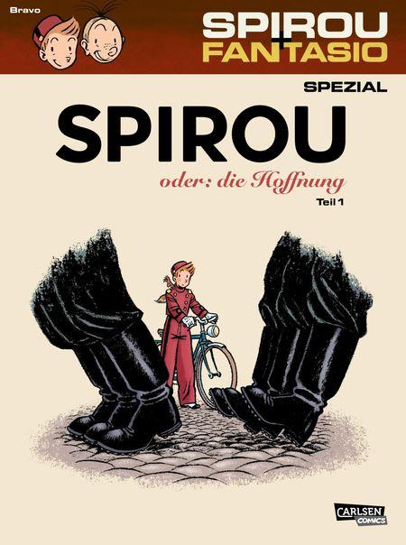 Spirou und Fantasio Spezial 26 - Das Cover